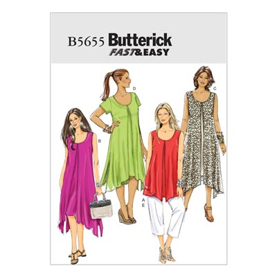 Top / Kleid / Hose, Butterick 5655 | 34 - 42