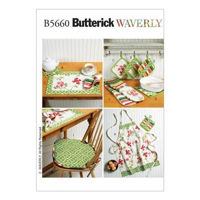 Kuchen - Accessoires, Butterick 5660