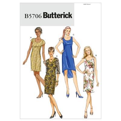 Kleid, BUTTERICK B5706