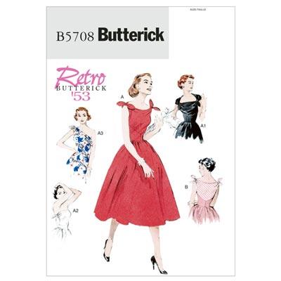 Kleid, Butterick 5708 | 32 - 40