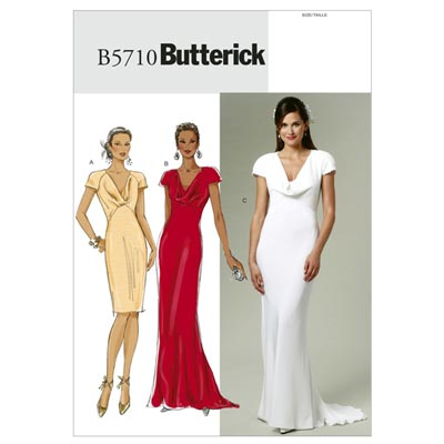 Kleid, Butterick 5710 | 32 - 40
