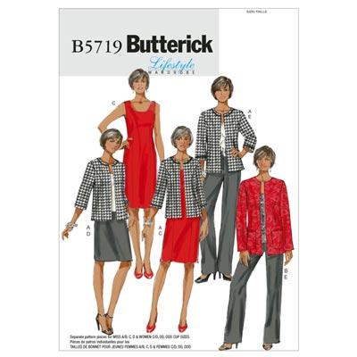 Jacke/Kleid/Rock/Hose, Butterick 5719 | 34 - 42