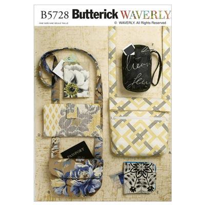 Taschen, Butterick 5728 | One Size