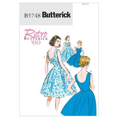 Vintage -  Kleid, BUTTERICK B5748