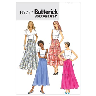 Rock, Butterick 5757 | 32 - 40