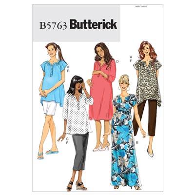 Kleid, Butterick 5763 | 34 - 42