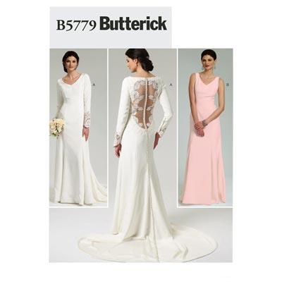 Brautkleid, Butterick 5779 | 30 - 38