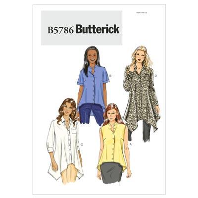Top, Butterick 5786 | 34 - 42
