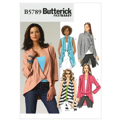 Jacke, Butterick 5789 | 32 - 40