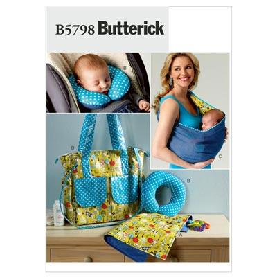 Babytuch/Tasche/Kissen, Butterick 5798 | One Size