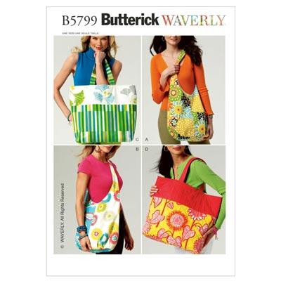 Taschen, Butterick 5799 | One Size