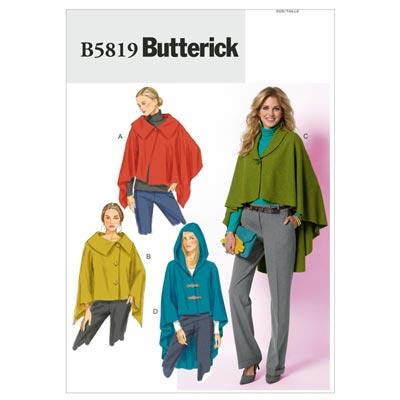 Cape, Butterick 5819 | 32 - 40