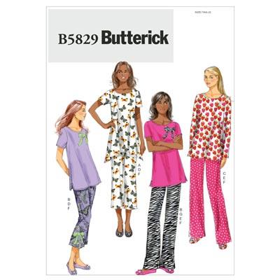 Nachtwäsche, Butterick 5829 | 42 - 50
