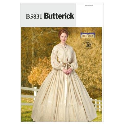 Historisches Kostüm, Butterick 5831 | 42 - 50