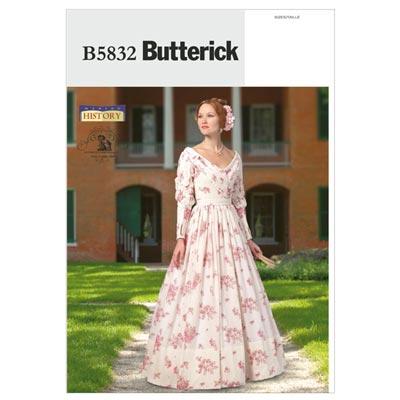 Historisches Kostüm, Butterick 5832 | 32 - 40