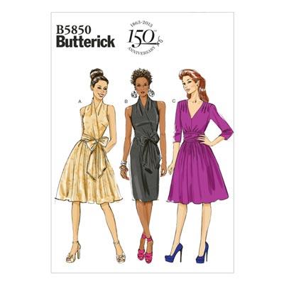 Kleid, Butterick 5850 | 34 - 42