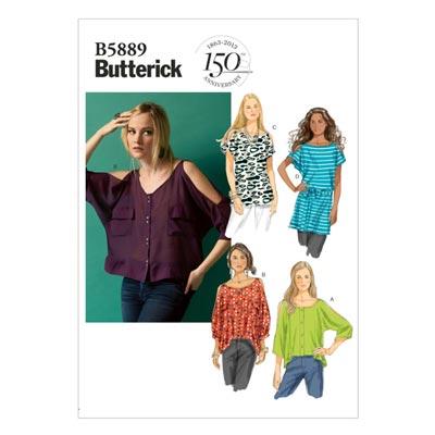 Top, Butterick 5889 | 32 - 40