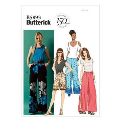 Hose, Butterick 5893 | 42 - 50