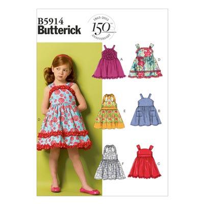Kinderkleid, Butterick 5914 | 87 - 116