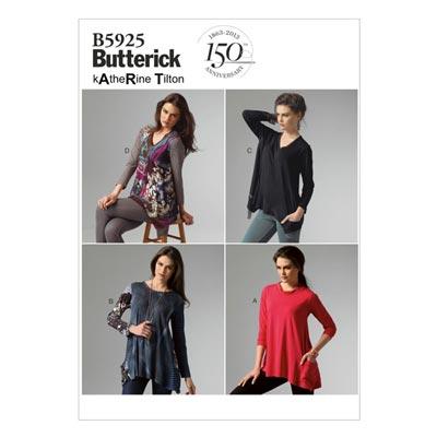Top, Butterick 5925 | 32 - 40