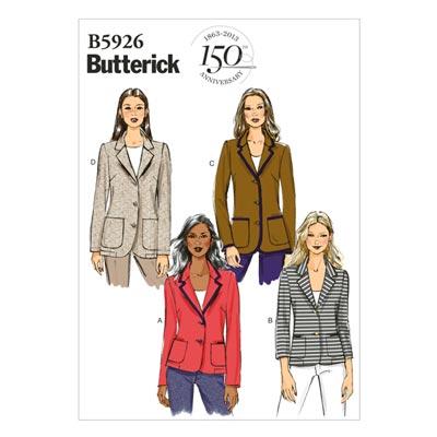 Blazer, Butterick 5926 | 34 - 42