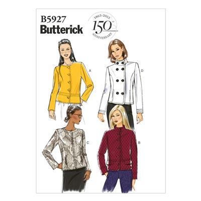 Jacke, Butterick 5927 | 32 - 40