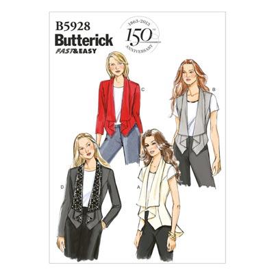 Jacke, Butterick 5928 | 32 - 40
