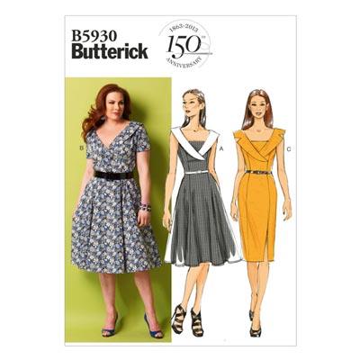 Kleid, Butterick 5930 | 34 - 42