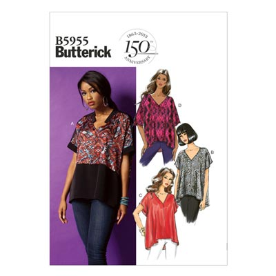 Top, Butterick 5955 | 42 - 50