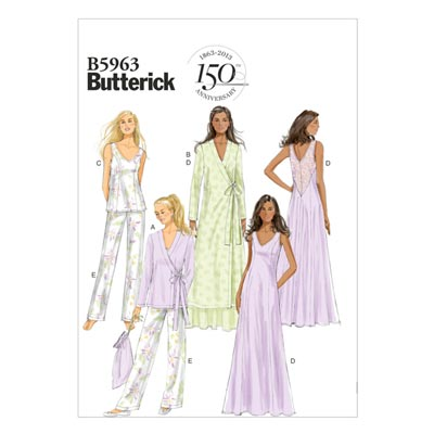 Nachtwäsche, Butterick 5963 | 32 - 40