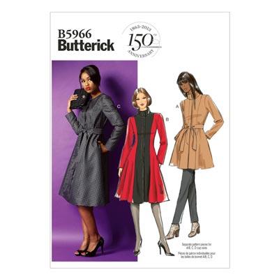 Mantel, Butterick 5966 | 34 - 42