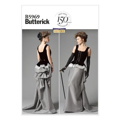 Historisches Kostüm, Butterick 5969 | 40 - 48