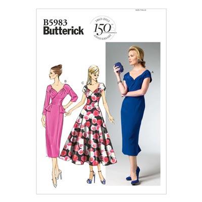 Kleid, Butterick 5983 | 32 - 40