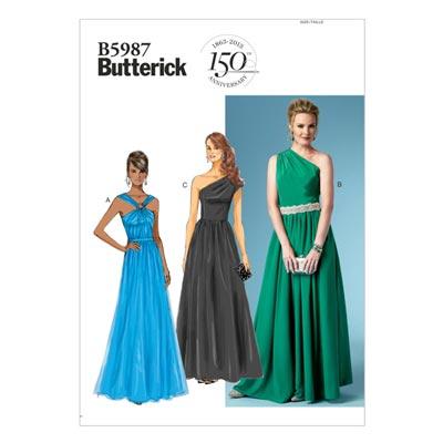 Abendkleid, Butterick 5987 | 34 - 42