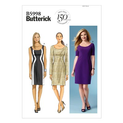 Kleid, Butterick 5998 | 44 - 50