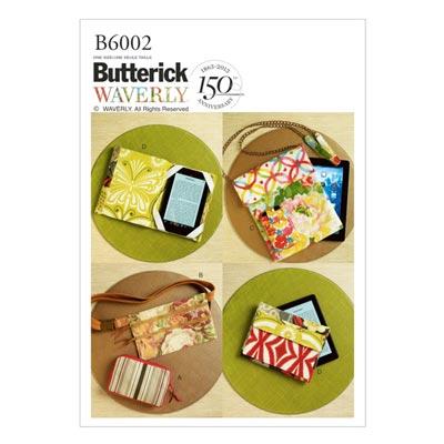 Tablet-Taschen, Butterick 6002 | One Size