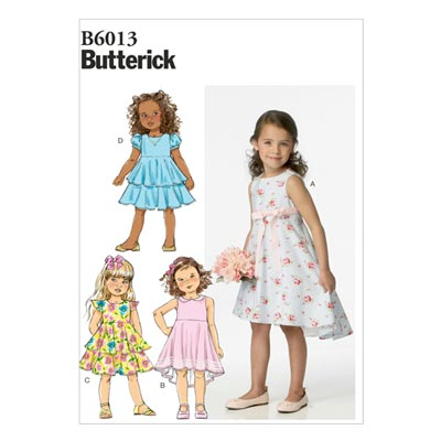 Kinderkleid, Butterick 6013 | 87 - 116