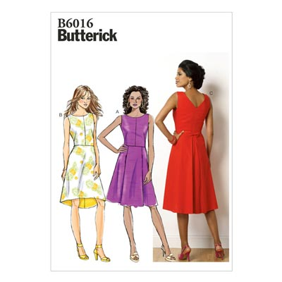 Kleid, Butterick 6016 | 40 - 48
