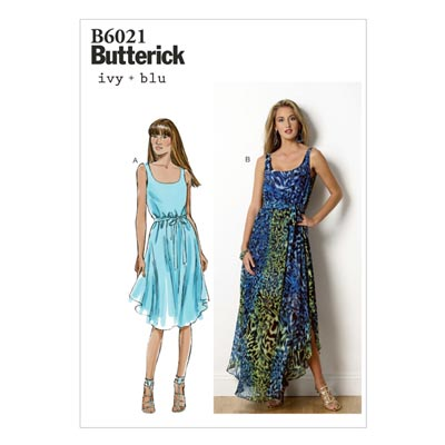 Kleid, Butterick 6021 | 42 - 50
