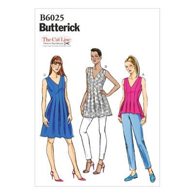Top, Butterick 6025 | 34 - 42