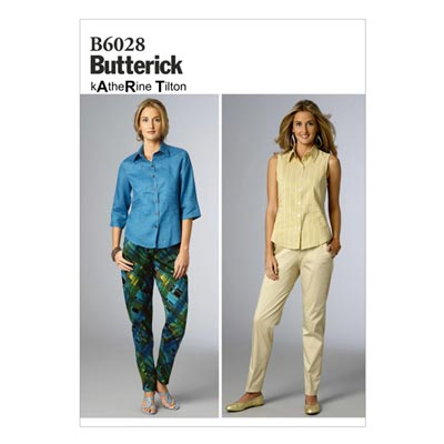 Hose, Butterick 6028 | 34 - 42