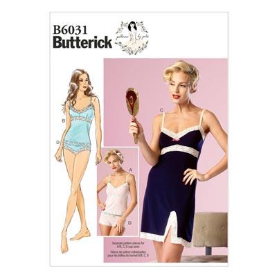 Nachtwäsche, Butterick 6031 | 40 - 48