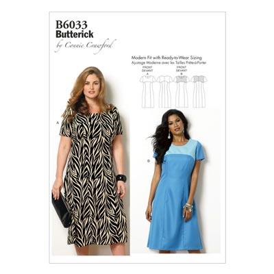 Plus Size - Kleid, Butterick 6033 | 2XL - 6XL