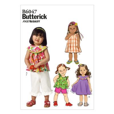 Kleid, Butterick 6047 | 79 - 102