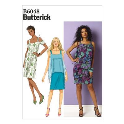 Kleid, Butterick 6048 | 34 - 42
