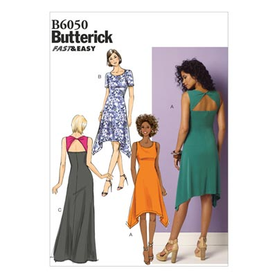 Kleid, Butterick 6050 | 40 - 48
