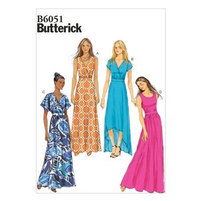 Kleid, Butterick 6051 | 42 - 50