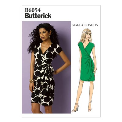 Kleid, Butterick 6054 | 32 - 40
