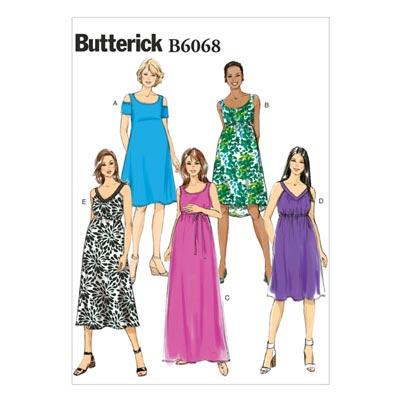 Umstandskleider, Butterick 6068 | 40 - 48