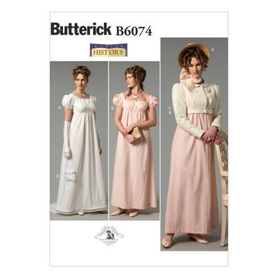 Historisches Kostüm, Butterick 6074 | 40 - 48